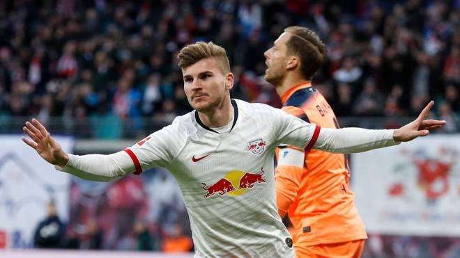 Timo Werner könnte RB Leipzig im Sommer verlassen