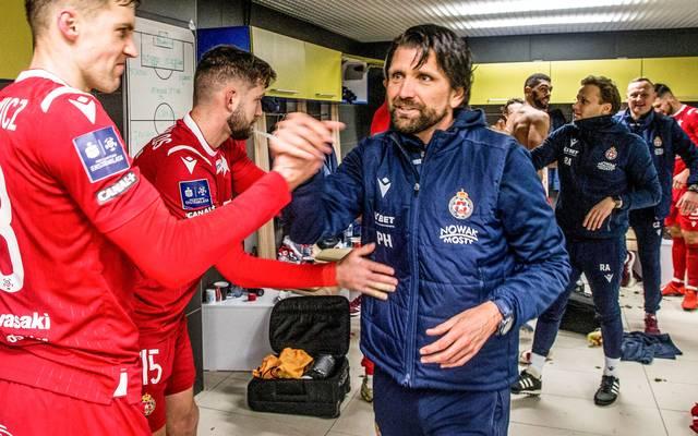 Peter Hyballa traininert den polnischen Erstligisten Wisla Krakau