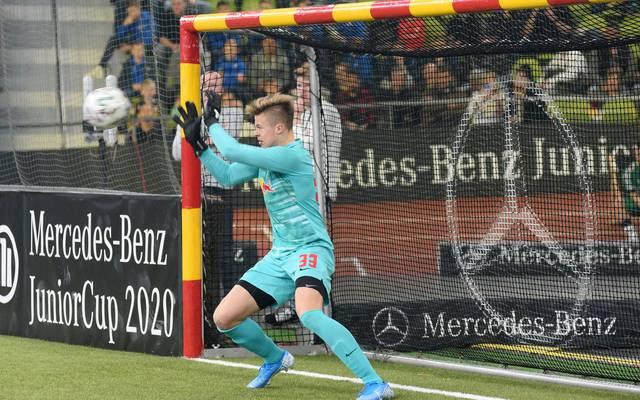 Moritz Schulze spielte 2020 beim Mercedes JuniorCup mit
