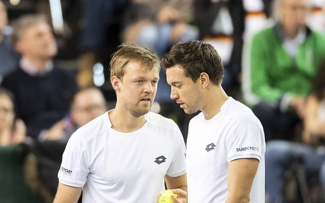 Kevin Krawietz und Andreas Mies werden in Hamburg an den Start gehen