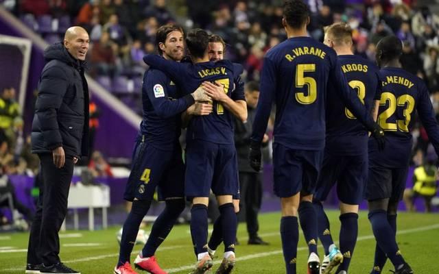 Real Madrid springt durch den Sieg vorerst wieder auf Rang eins