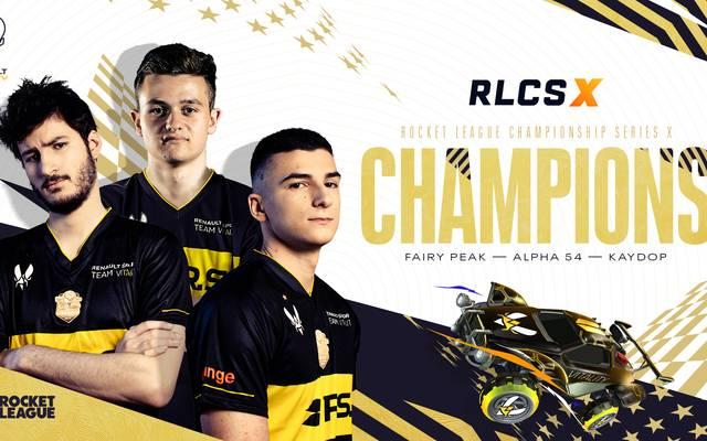 Verdienter Sieger - Renault Vitality gewinnt das RLCSX European Regional 3