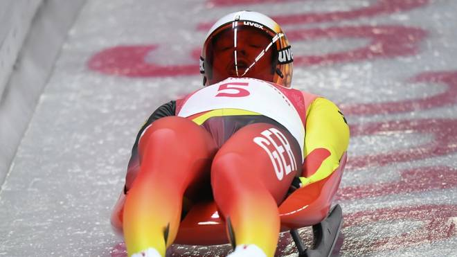Felix Loch gewinnt Rodel-Weltcup