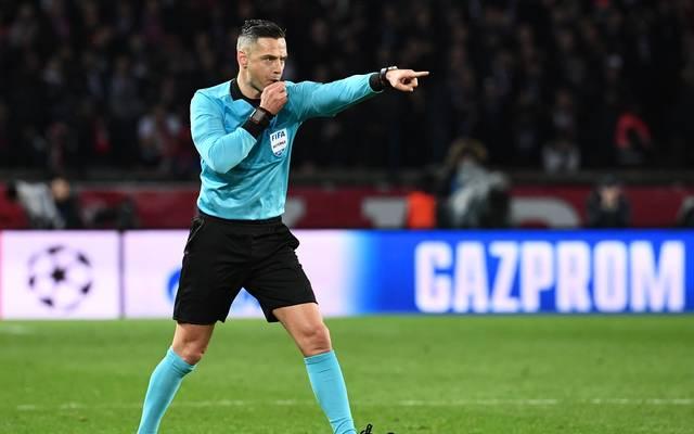 Der Slowene Damir Skomina leitet sein erstes Endspiel in der Champions League