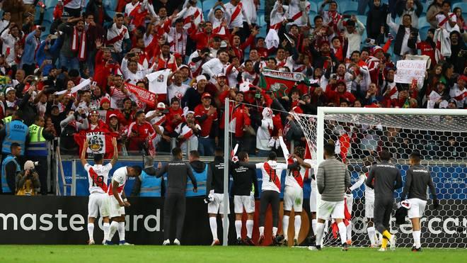 Peru, Chile, Copa América