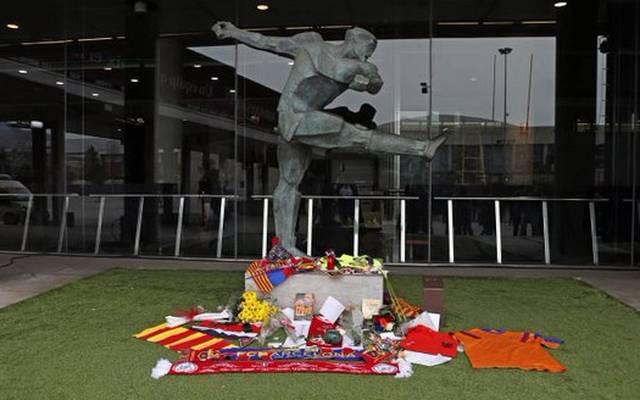 Der FC Barcelona eröffnet eine Gedenkstätte für Johan Cruyff