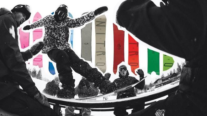 Nitro Snowboards: Test-Tour 2018