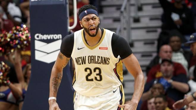 Anthony Davis führt die New Orleans Pelicans gegen Boston zum Sieg