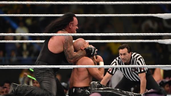 The Undertaker bei WWE: Der Wrestling-Mythos in Bildern
