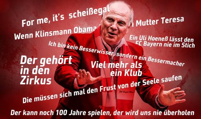 Die 66 Besten Sprüche Von Uli Hoeneß Sport1 Bildergalerie
