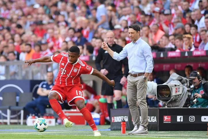 Mit nur 17 Jahren feiert Franck Evina gegen Eintracht Frankfurt sein Profi-Debüt für den FC Bayern München. Nicht viele kamen beim Rekordmeister früher zu Bundesliga-Ehren