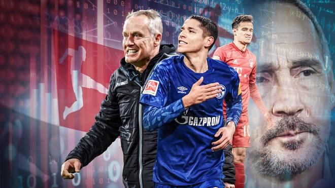 """Die """"Expected-Goals""""-Statistik hätte einen anderen Verlauf der Bundesliga-Hinrunde erwarten lassen"""