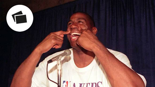 Earvin Magic Johnson lief in der NBA nur für die Los Angeles Lakers auf