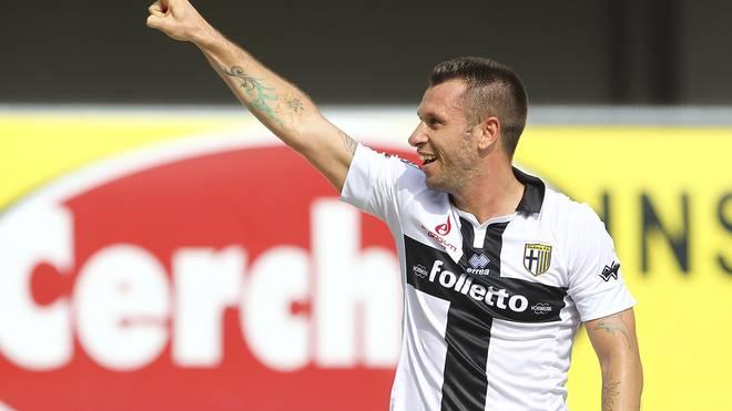 Antonio Cassano stürmte zuletzt für den FC Parma
