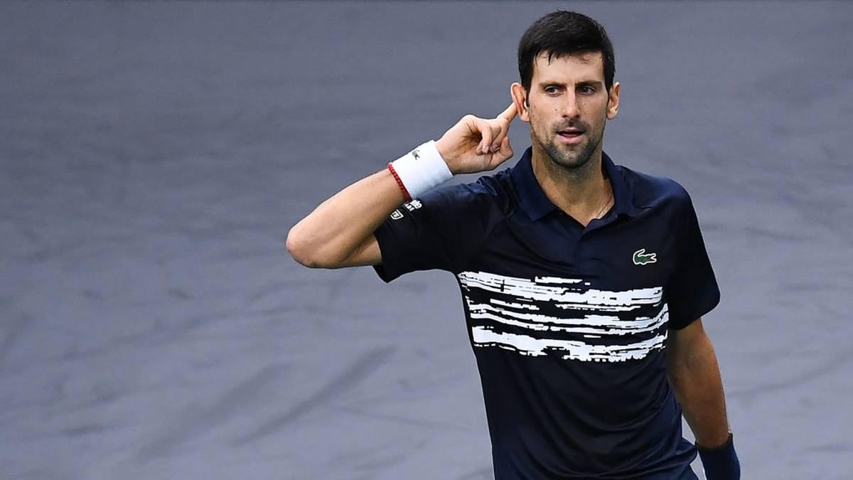 Novak Djokovic gewinnt sein insgesamt 77. Turnier auf der ATP-Tour