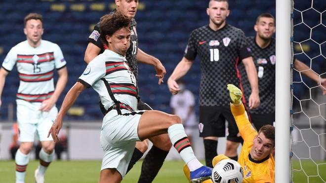 Joao Felix und die portugiesische Nationalmannschaft feiert einen klaren Sieg