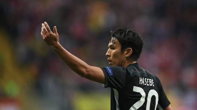 Makoto Hasebe muss mit der Eintracht in der Europa League ran