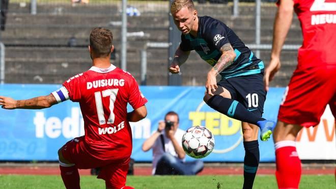 Ondrej Duda erzielte das Tor für Hertha BSC im Finale