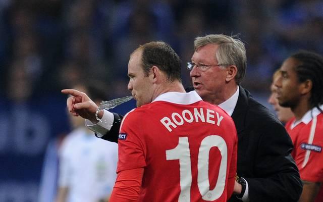 Unter Sir Alex Ferguson entwickelte sich Wayne Rooney zu einem der besten Stürmer der Welt