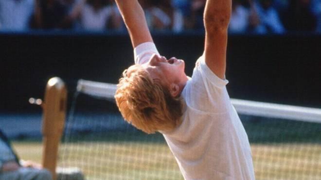 Boris Becker gewann 1985 erstmals Wimbledon