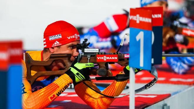Arnd Peiffer zeigte sich beim zweiten Weltcup in Kontiolahti verbessert
