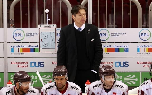 Uwe Krupp kriegt bei den Kölner Haien Unterstützung