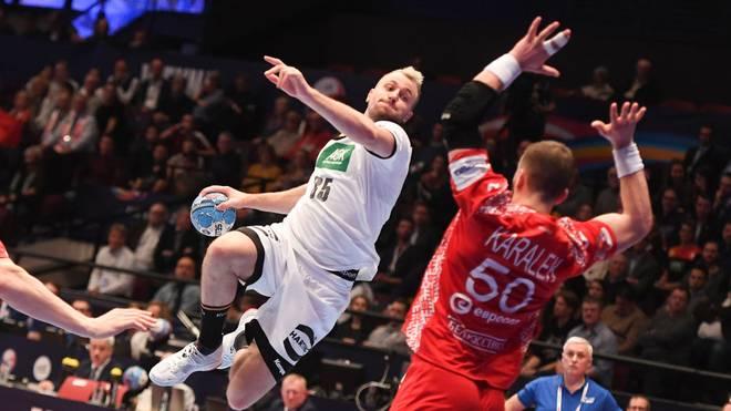 Die deutschen Handballer peilen bei der EM das Halbfinale an