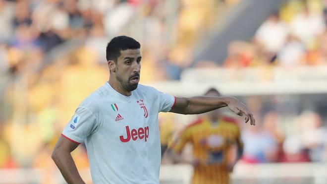 Sami Khedira durfte mit Juves Erlaubnis nach Deutschland ausreisen