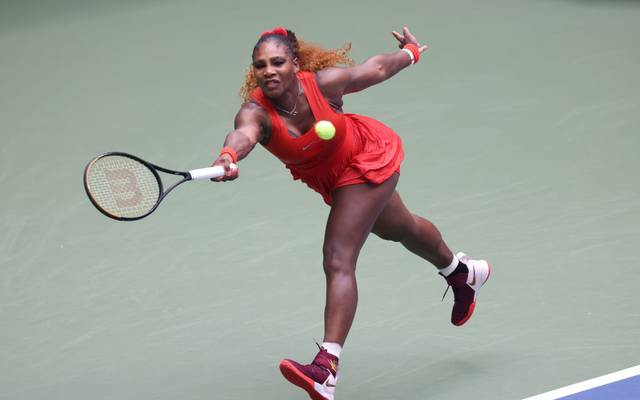 Serena Williams greift nach ihrem 24. Grand-Slam-Titel