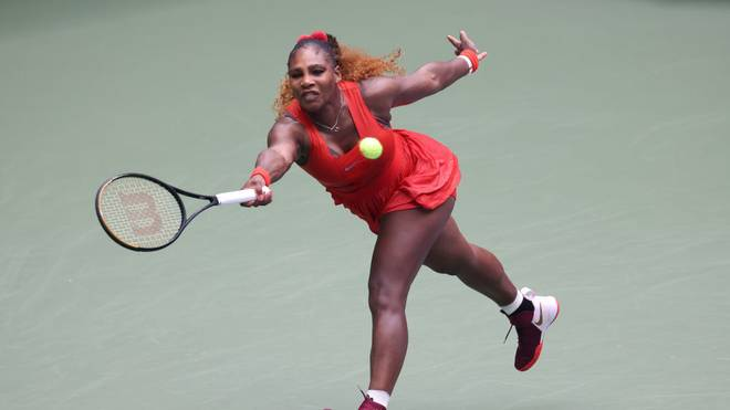 Serena Williams greift nach ihrem 24. Grand-Slam-Titel