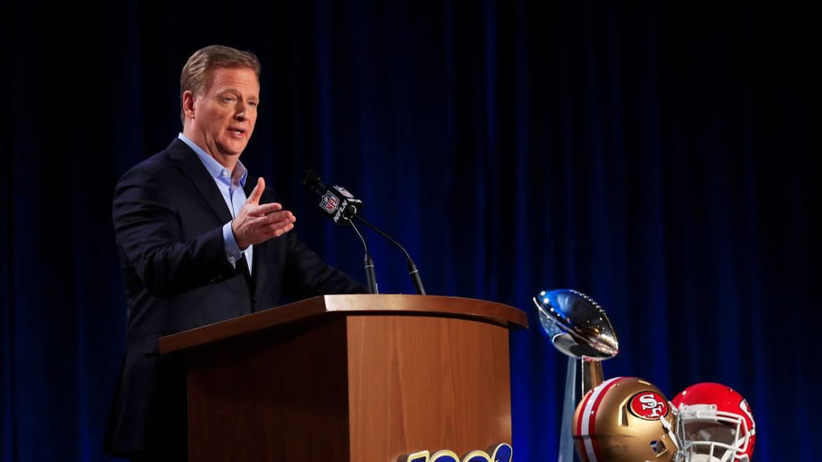 NFL-Commissioner Roger Goodell verzichtet anscheinend freiwillig auf ein Monatsgehalt