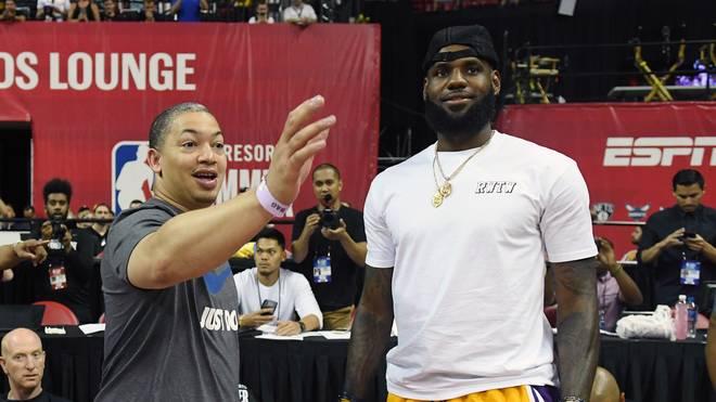 Tyronn Lue arbeitet künftig bei den Clippers und ist damit wieder Gegner von LeBron James, der die Lakers zurück zum Ruhm führen soll