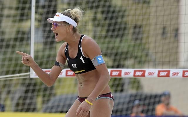 Karla Borger spielt seit dieser Saison mit Julia Sude zusammen
