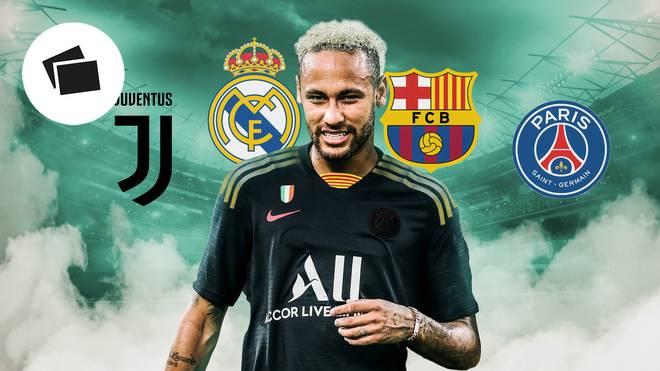 Vier Alternativen hat Neymar derzeit für seine Zukunft - keine davon ist uneingeschränkt positiv