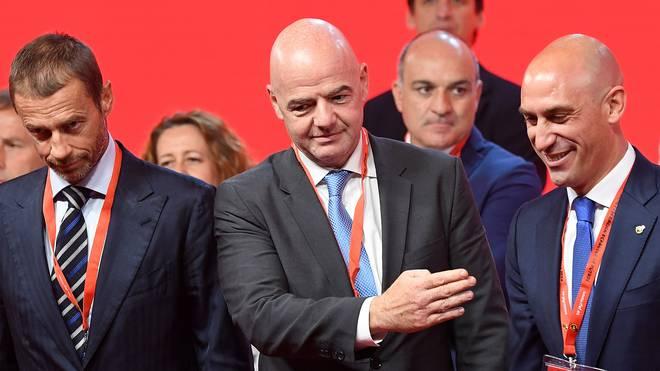 FIFA-Präsident Gianni Infantino und sein Verband wollen keine staatliche Einmischung in den Verband von Ghana