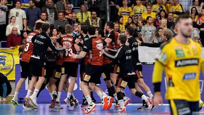 Hannover feierte nach dem Treffer von Morten Olsen