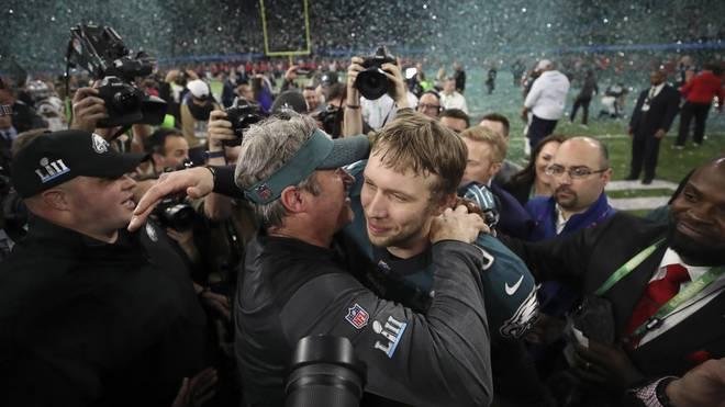 Nick Foles wurde im Super Bowl zum gefeierten Helden