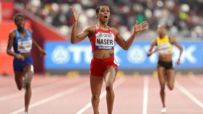 Salwa Eid Naser lief die zweitschnellste Zeit über 400 Meter aller Zeiten