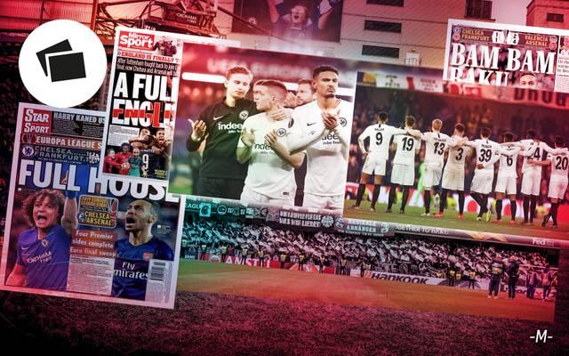 Die Presse verneigt sich vor der Leistung von Eintracht Frankfurt