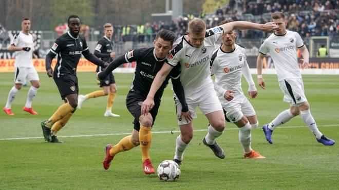 2. Liga: SV Sandhausen besiegt Dynamo Dresden 3:1