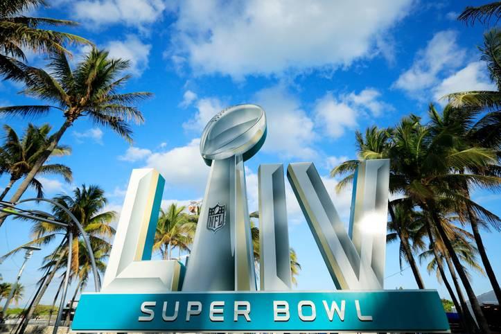 Nur noch ein Tag bis zum Super Bowl LIV in Miami...