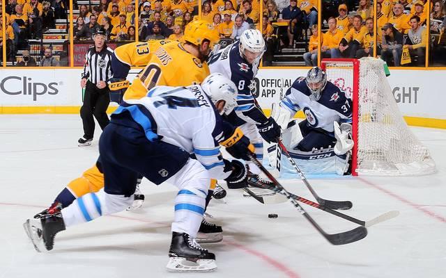 Die Winnipeg Jets treffen in den NHL-Playoffs auf die Nashville Predators