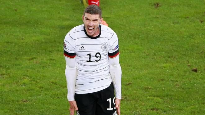 Linksverteidiger Robin Gosens hatte gegen die Schweiz zu kämpfen und wurde nach schwacher Leistung ausgewechselt.