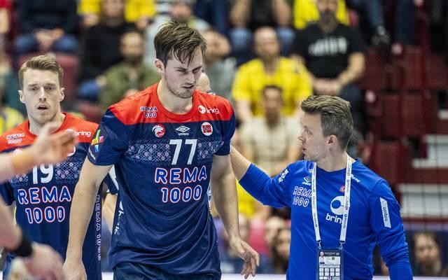 Magnus Röd verletzte sich im Spiel der Norweger gegen Schweden