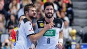 Fabian Böhm (l.) und Tim Suton überzeugten gegen Spanien