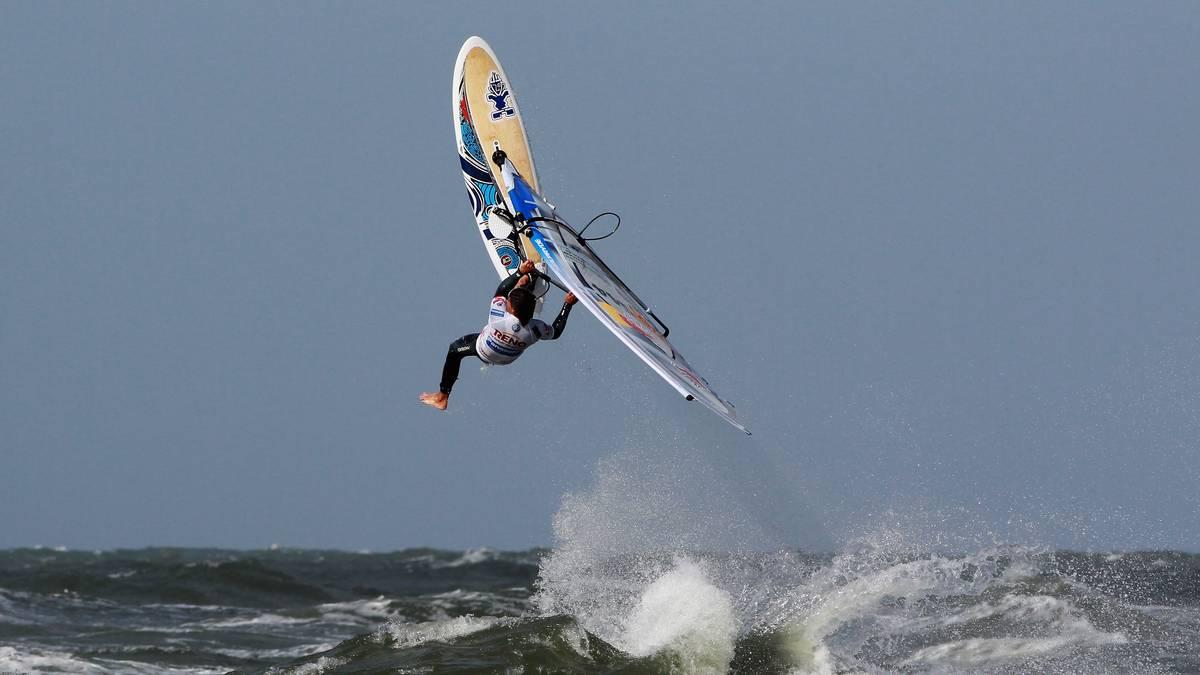 Philip Köster gewann 2011 seinen ersten WM-Titel im Windsurfen