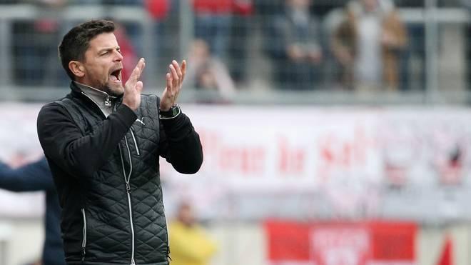 Torsten Ziegner ist seit dieser Saison Trainer des Halleschen FC