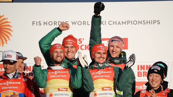 FIS Nordic World Ski Championships - Men's Team Ski Jumping HS130