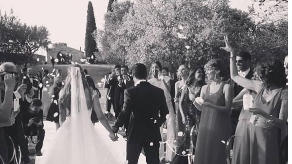 Thiago heiratet