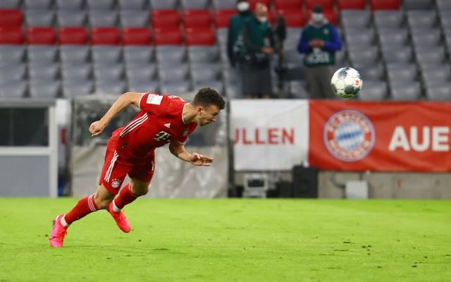 Ivan Perisic brachte den FC Bayern gegen Eintracht Frankfurt in Führung